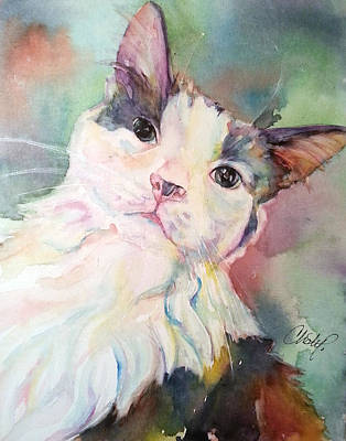 Art Print featuring the painting Dinky by Christy Freeman
