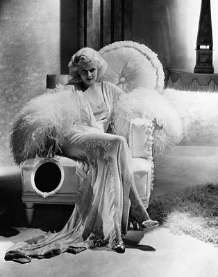 Dinner At Eight, Jean Harlow Art Print
