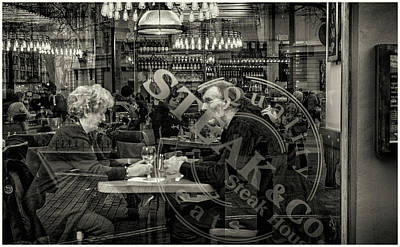 Photograph - Dinner For 2 by Stewart Marsden