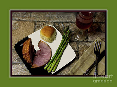 Photograph - Dinner Is Served by Deborah Klubertanz