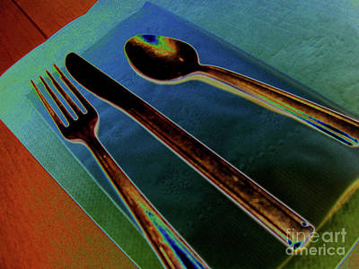 Photograph - Dinner Is Served by Elizabeth Hoskinson