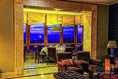 Photograph - Dinner With A View by Rick Bragan