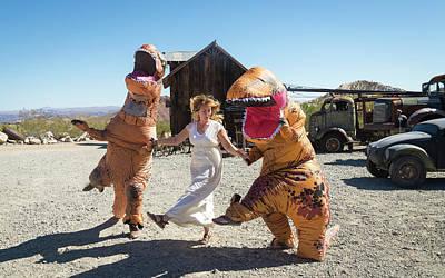 Photograph - Dino Dance by Alex Lapidus