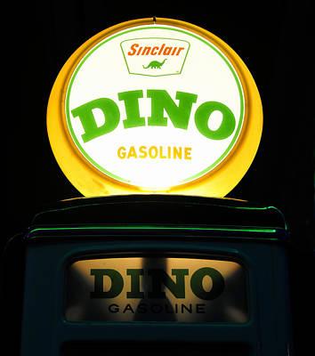 Dino Night Print by David Lee Thompson