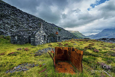 Photograph - Dinorwic Quarry Ruins by Ian Mitchell
