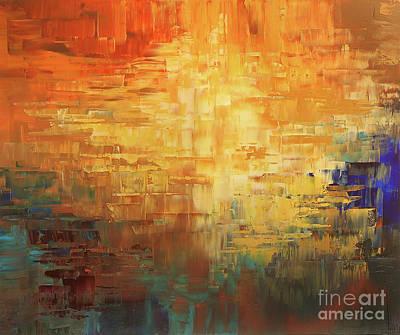 Painting - Dinosaur Lowlands by Tatiana Iliina