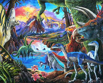 Dinosaur Original by Nadi Spencer
