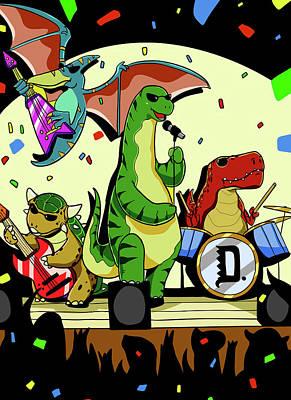 Dinosaur Rock Band Original
