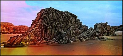 Photograph - Dinosaur Rock by Thom Zehrfeld