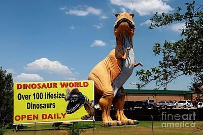 Photograph - Dinosaur World 2 by Bob Pardue