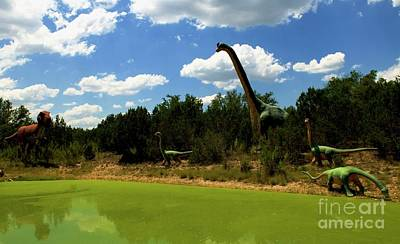 Photograph - Dinosaur World 3 by Bob Pardue