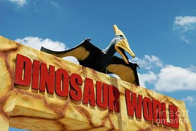 Photograph - Dinosaur World by Bob Pardue