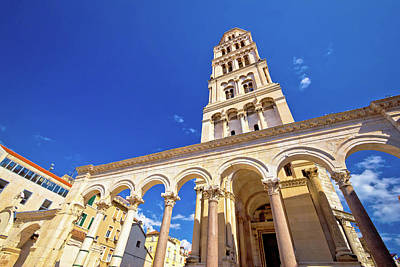 Photograph - Diocletian Palace Unesco World Heritage Site In Split by Brch Photography