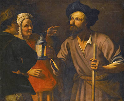Painting - Diogenes In Search Of An Honest Man by Amsterdam School