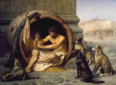 Diogenes Painting - Diogenes Of Sinope by Celestial Images