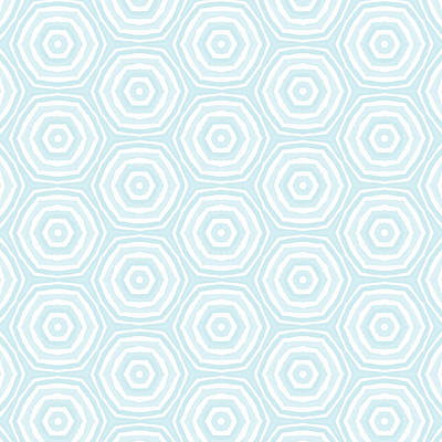 Light Blue Digital Art - Dip In The Pool -  Pattern Art By Linda Woods by Linda Woods