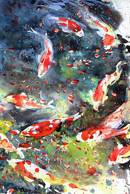 Painting - Diptych No.19 Right by Sumiyo Toribe