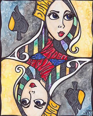 Painting - Dire Wolf by Jennifer  Love-Gironda
