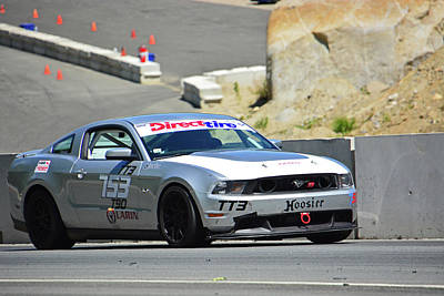 Photograph - Direct Tire 753 Mustang by Mike Martin