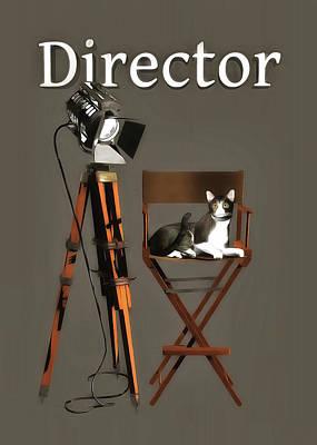 Painting - Director by Jan Keteleer
