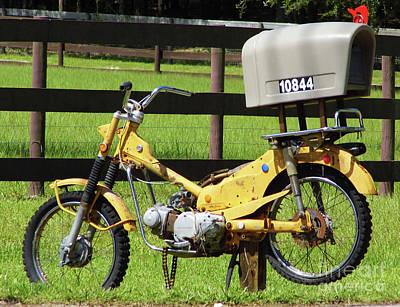 Photograph - Dirt Bike Mail Box by D Hackett