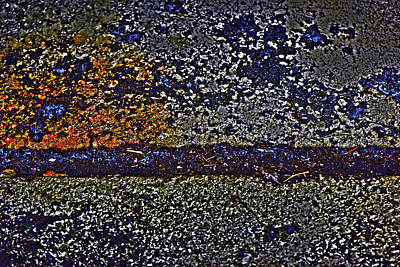Photograph - Dirt On Concrete by Gina O'Brien
