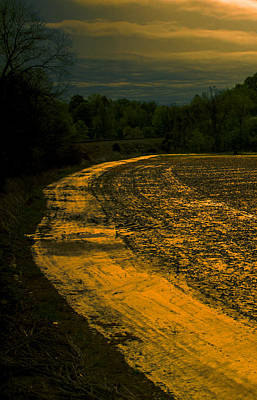Photograph - Dirt Road Around The Farm by Jeff Kurtz