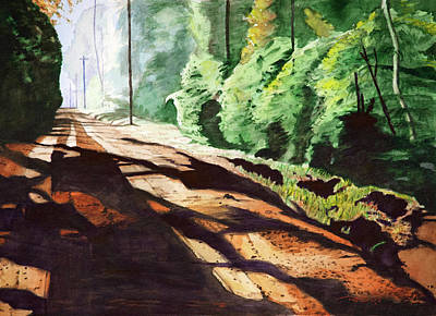 Beautiful Painting - Dirt Road by Christopher Reid