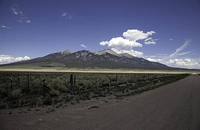 Photograph - Dirt Road In The Sangre De Cristo Mountains by Scott Sanders