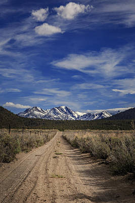 Photograph - Dirt Road View by Cat Connor