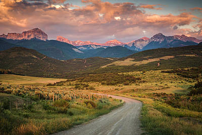 Photograph - Dirt Road by Whit Richardson