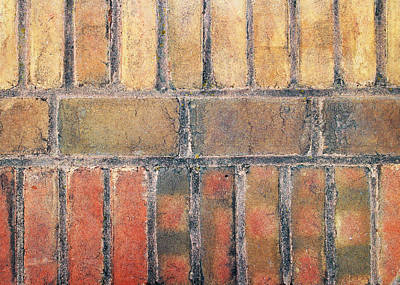 Photograph - Dirty Bricks by John Cardamone