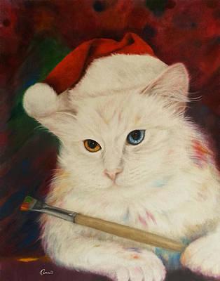 Christmas Cat Original
