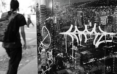 Photograph - Dirty City Blues  by The Artist Project