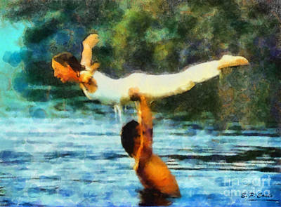 Painting - Dirty Dancing by Elizabeth Coats