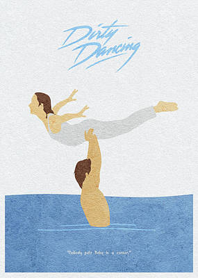 Painting - Dirty Dancing by Inspirowl