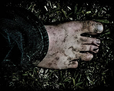 Photograph - Dirty Foot by Philip A Swiderski Jr