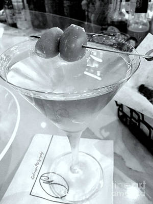 Photograph - Dirty Martini With Olives by Kip Krause