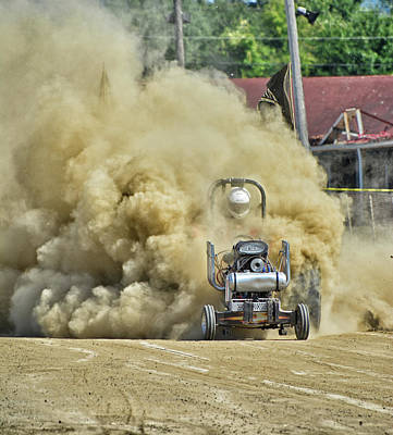 Photograph - Dirty Motorsports Action by Mike Martin