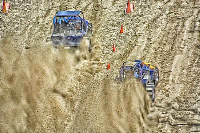 Photograph - Dirty Racers by Mike Martin