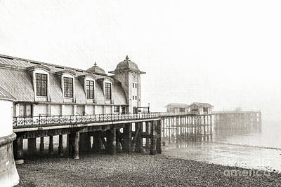 Photograph - Disa Pier Ing Mono by Steve Purnell