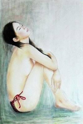 Painting - Discharge by Wanvisa Klawklean