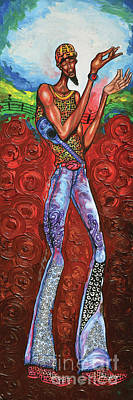 Disco Painting - Disco King by The Art of DionJa'Y