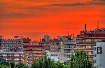 Photograph - Disco Sunrise by Nadia Sanowar