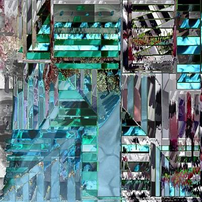 Digital Art - Discomposure by T Bork