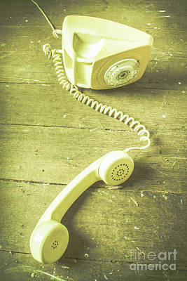 Telephone Photograph - Disconnected by Jorgo Photography - Wall Art Gallery