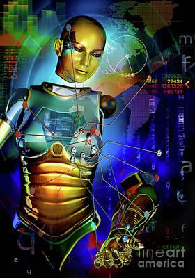 Digital Art - Disconnected by Shadowlea Is