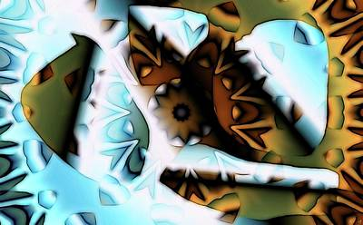 Digital Art - Discontinuous Permafrost by Ron Bissett