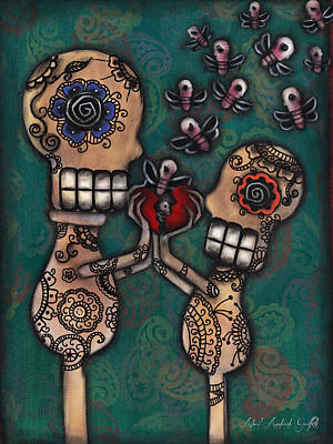 Sacred Art Painting - Discover by  Abril Andrade Griffith