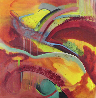 Airways Painting - Discovering New Worlds by Del Marinello
